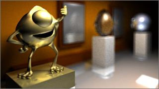 Path tracing is an extension of the common ray tracing method enabling physically based lighting and global illumination. The path tracing algorithm ... & Mikael Persson - Physically based lighting using path tracing